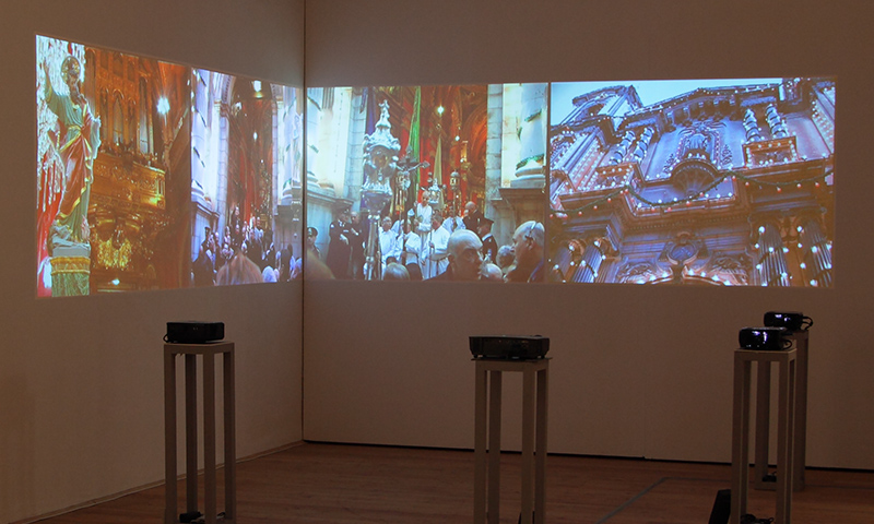 Malta As Metaphor - video installation at Kunsthalle Exnergasse in Vienna
