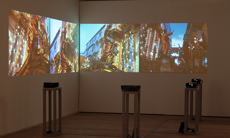 Malta As Metaphor - video installation, Kunsthalle Exnergasse in Wien